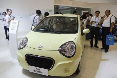 吉利熊猫电动车 - 碧绿都